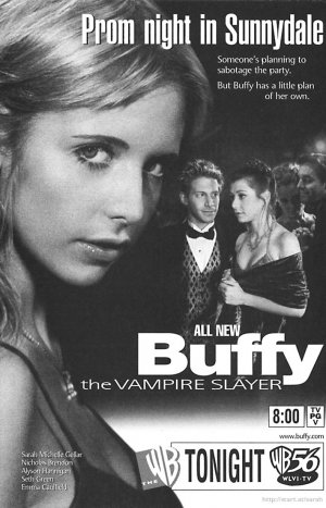 Buffy the Vampire Slayer 709x1104