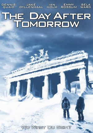The Day After Tomorrow Dvd cover