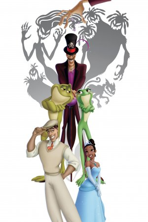 The Princess and the Frog 3328x5000