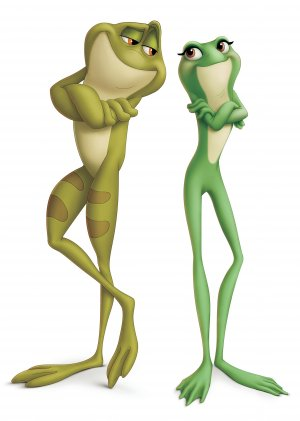 The Princess and the Frog 2866x4018