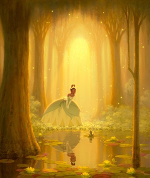The Princess and the Frog 4011x4761