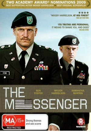 The Messenger Dvd cover