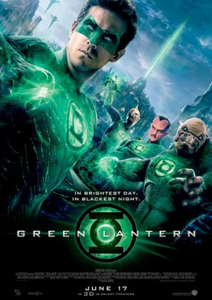 Green Lantern Advance poster