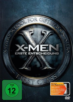 X-Men: First Class Dvd cover
