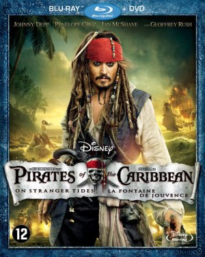 Pirates of the Caribbean: On Stranger Tides Blu-ray cover