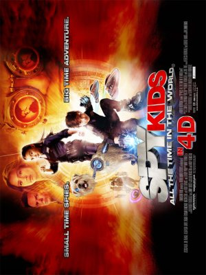 Spy Kids 4: All the Time in the World 960x1280