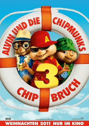 Alvin and the Chipmunks: Chipwrecked 989x1400