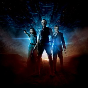 Cowboys & Aliens Key art