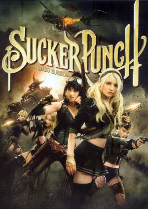 Sucker Punch Dvd cover