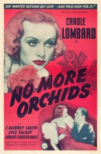 No More Orchids poster