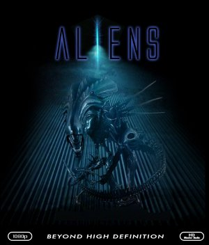 Aliens Blu-ray cover