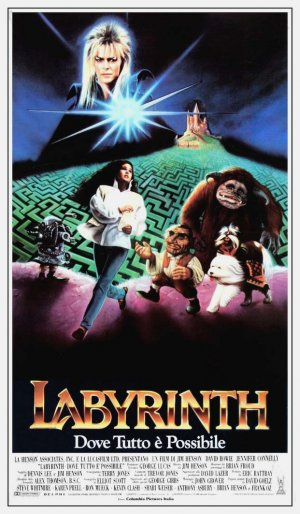 Labyrinth Theatrical poster