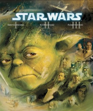 Star Wars: Episode I - The Phantom Menace Blu-ray cover