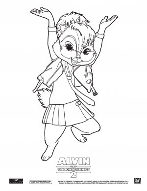 Alvin and the Chipmunks: The Squeakquel 3863x5000