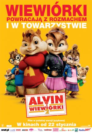 Alvin and the Chipmunks: The Squeakquel 413x600