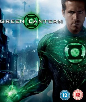 Green Lantern Blu-ray cover