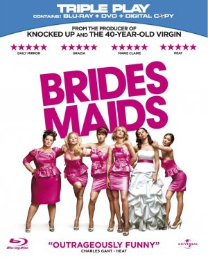 Bridesmaids Blu-ray cover