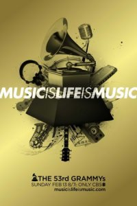 The 53rd Annual Grammy Awards poster