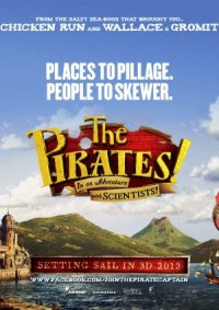 The Pirates! Band of Misfits in 3D poster