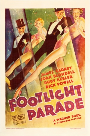 Footlight Parade Theatrical poster
