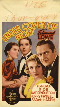Under Cover of Night poster
