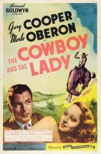 La dama e il cowboy poster