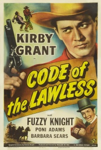 Code of the Lawless poster