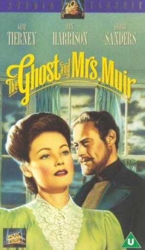 The Ghost and Mrs. Muir Vhs cover