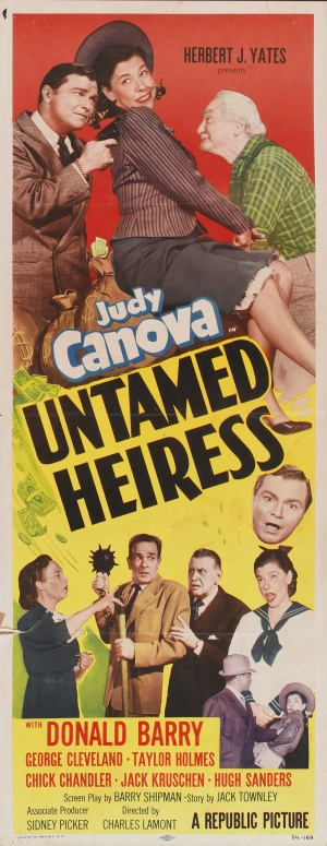 Untamed Heiress Poster