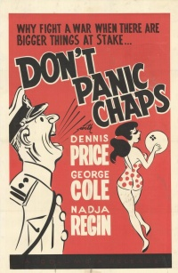 Don't Panic Chaps poster
