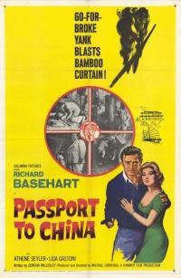 Passport to China poster