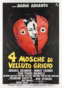 4 Flies on Grey Velvet poster