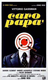 Caro papà poster