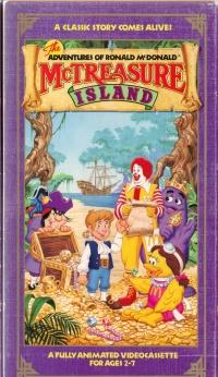 The Adventures of Ronald McDonald: McTreasure Island poster