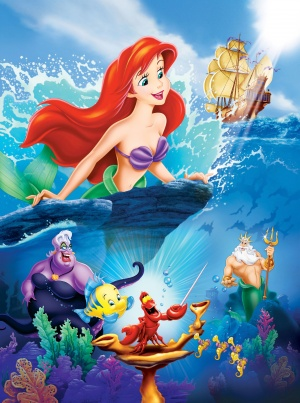 The Little Mermaid 3718x5000