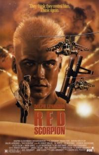 Scorpione rosso poster