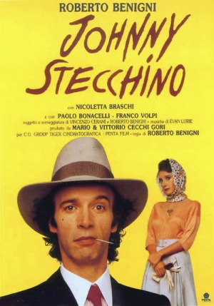 Johnny Stecchino Theatrical poster