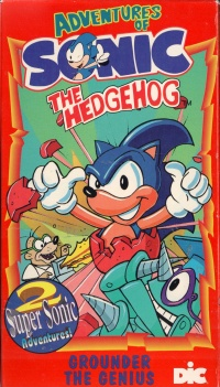 Dobrodružství ježka Sonica poster
