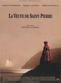 Die Witwe von Saint-Pierre poster