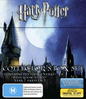 Harry Potter and the Sorcerer's Stone Blu-ray cover