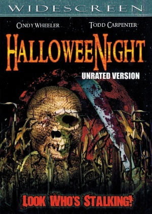 HalloweeNight Dvd cover