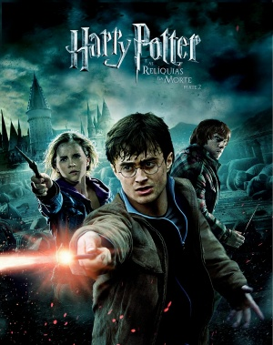 Brazilian dvd cover for Harry Potter and the Deathly Hallows: Part II
