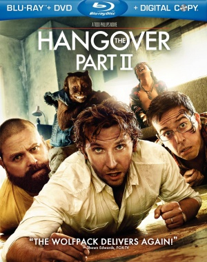 The Hangover Part II Blu-ray cover