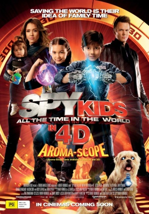 Spy Kids 4: All the Time in the World 800x1143