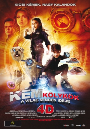 Spy Kids 4: All the Time in the World 1110x1600