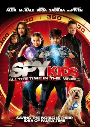 Spy Kids 4: All the Time in the World 1602x2244