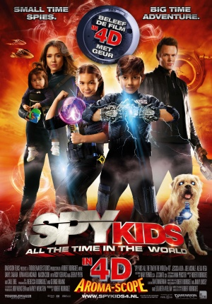 Spy Kids 4: All the Time in the World 3483x5000