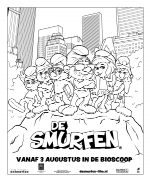 The Smurfs 2480x3000