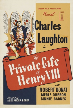 The Private Life of Henry VIII. Re-release poster