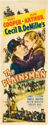 The Plainsman Poster